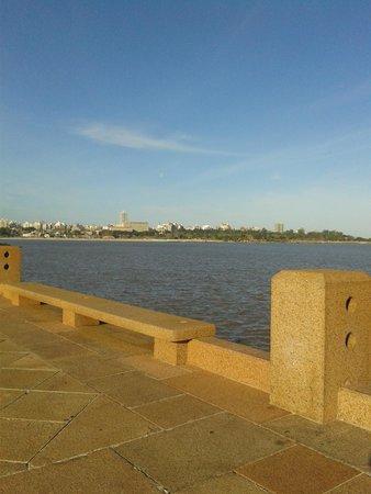 Rambla de Montevideo: Orla do Rio de La Plata