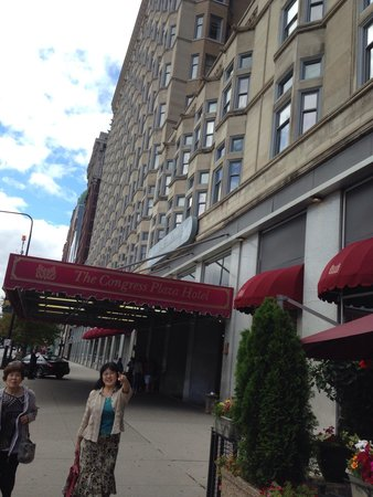 The Congress Plaza Hotel and Convention Center : One week here!!