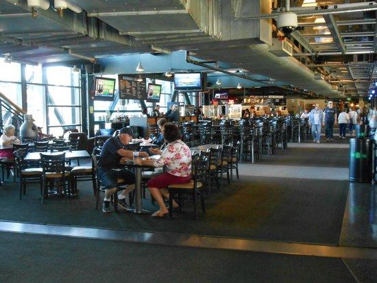 Safeco Field: club level
