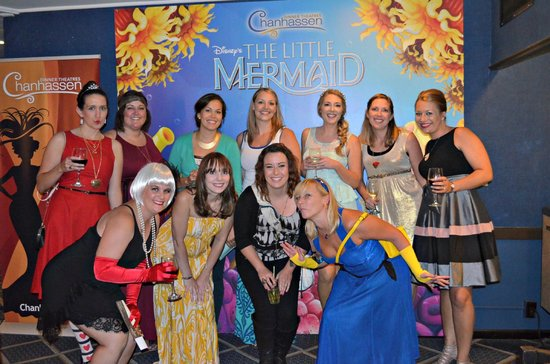 Chanhassen Dinner Theatres: Dressed to the theme of our favorite Disney character(s) at The Little Mermaid!