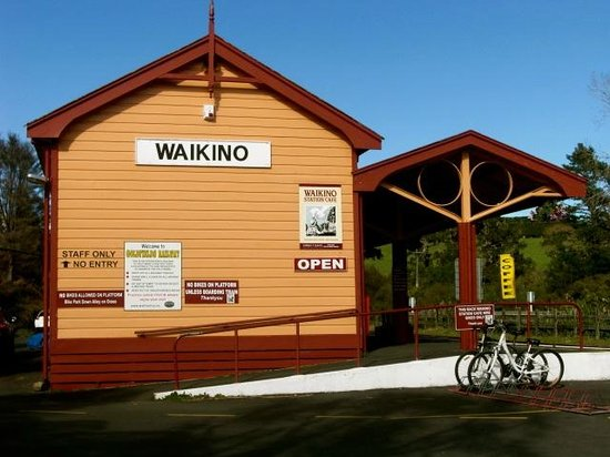 Hauraki Rail Trail Thames: Waikino Station