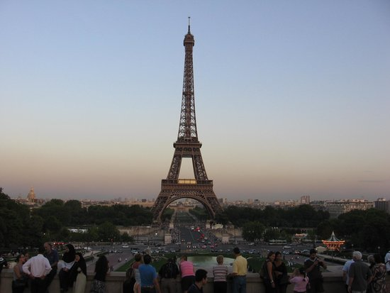 Citadines Saint-Germain-des-Pres Paris : Vue de la Place Trocadero
