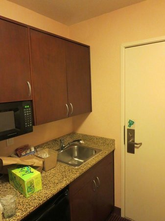 Belltown Inn: Kitchenette