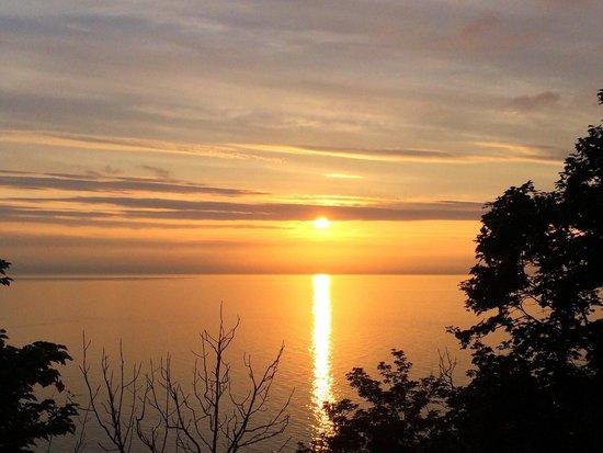 Puyuni Misaki: プユニ岬から見た夕日