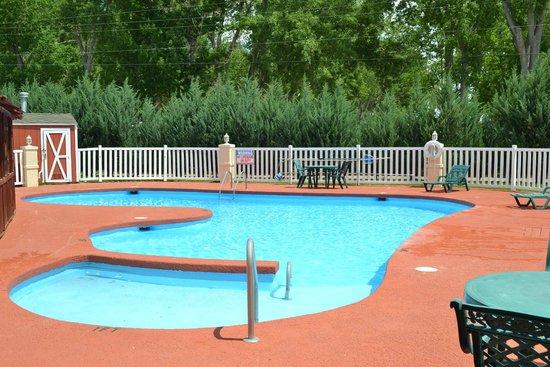 Quality Inn: Beautiful pool