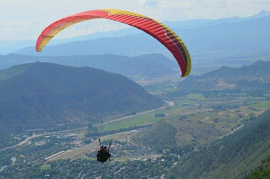 Adventure Paragliding: over Glenwood Springs