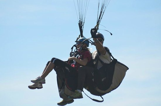 Adventure Paragliding: Pine
