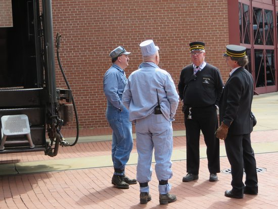 Steamtown National Historic Site : Steamtown - Conductors
