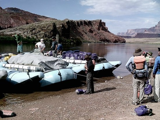 Arizona River Runners: Embarkation Point at Lee's Ferry