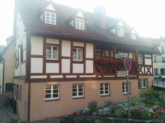 Mauermuehle Steakhaus : Schönes Fachwerkgebäude