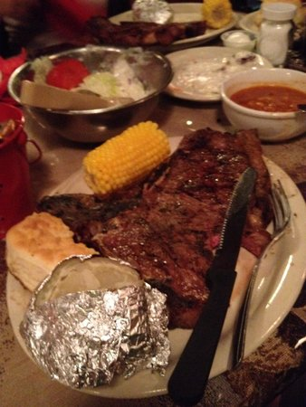 Yippee-ei-o! : Rancher steak