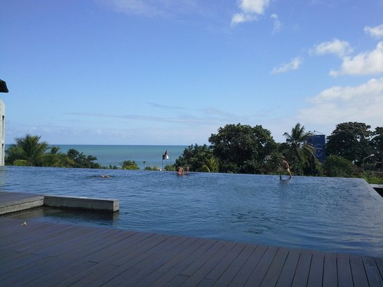 Pullman Bali Legian Beach: view from infinity pool.