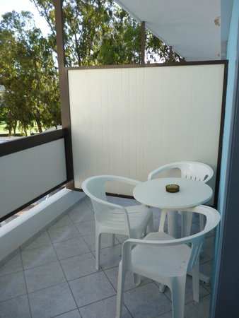 Belair Beach Hotel : Балкон