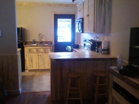 Wolf Creek Ranch Ski Lodge: Full size kitchen