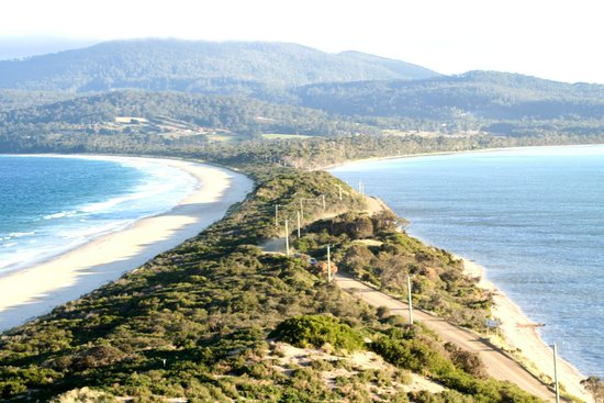 Captain Cook Holiday Park: The Neck from Truganini Lookout
