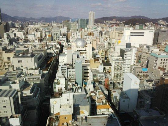 Mitsui Garden Hotel Hiroshima: 部屋からの眺め