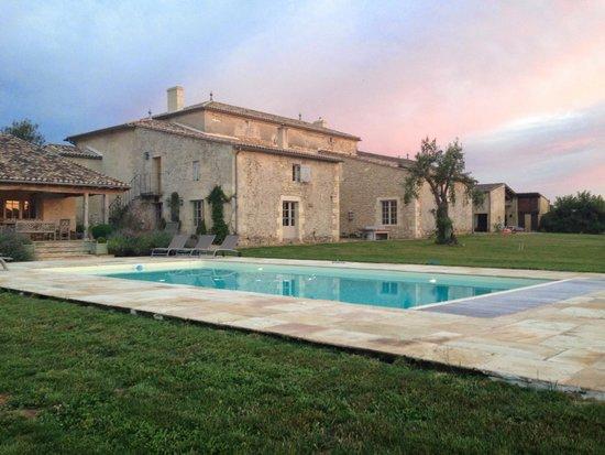 Maison d'Amis at Domaine de Polus: WIde shot of the property...amazing!