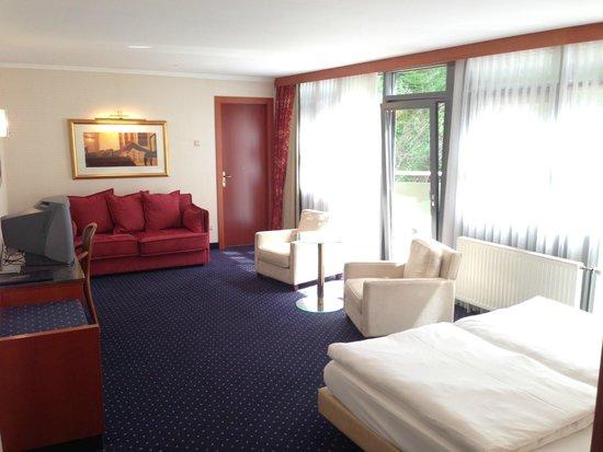 Hotel Koener : View from doorway
