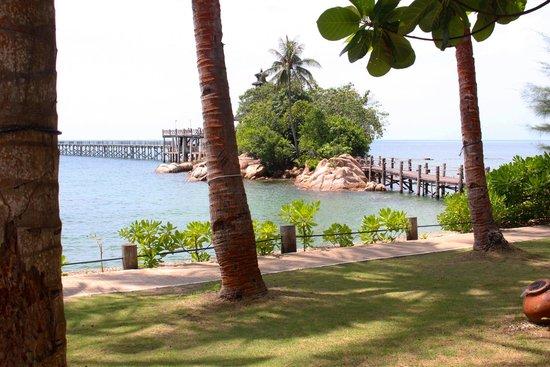 Turi Beach Resort: beach view
