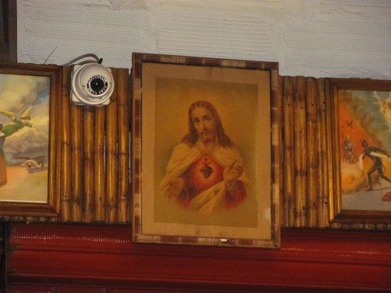 Restaurante el Viejo John: Artwork