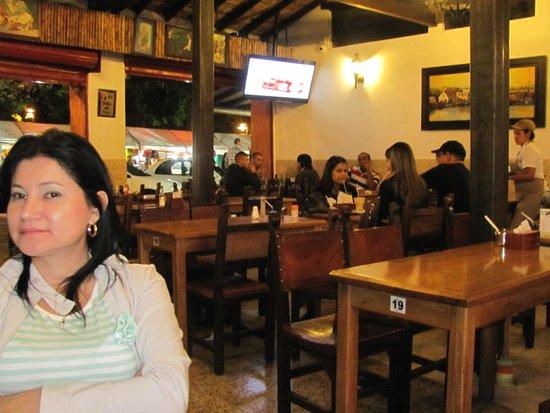 Restaurante el Viejo John: The dining room