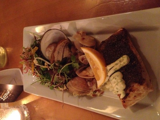 Hotel d'Urville: Crispy Skinned Blue Nose Cod with Clams