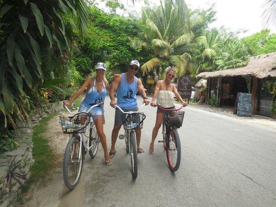 Ahau Tulum: Biking is awesome!!
