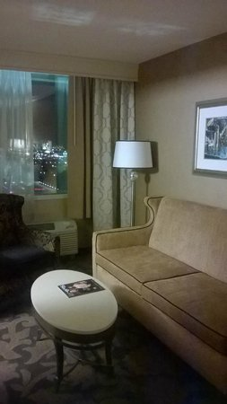 The Orleans Hotel & Casino: Living area