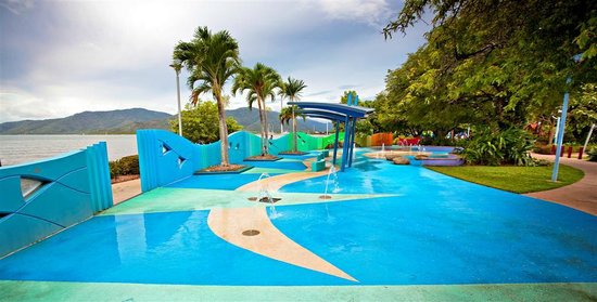Cairns, Australia: Muddy's Playground - splash play