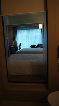 Widus Hotel and Casino : beds