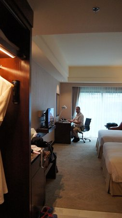 Widus Hotel and Casino: looking into room