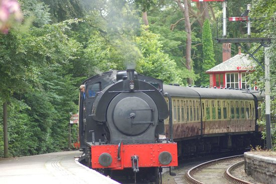 Lakeside & Haverthwaite Steam Railway: Repulse on the line