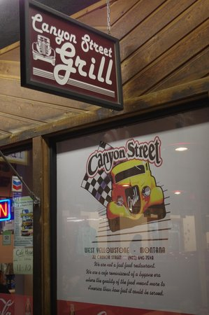 Canyon Street Grill : bord