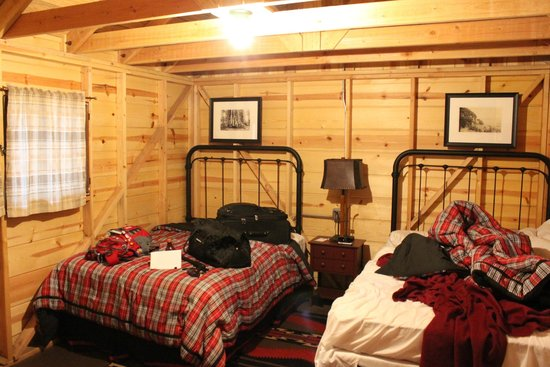 Grant Grove Cabins double full beds in each rustic cabin & double full beds in each rustic cabin - Picture of Grant Grove ...
