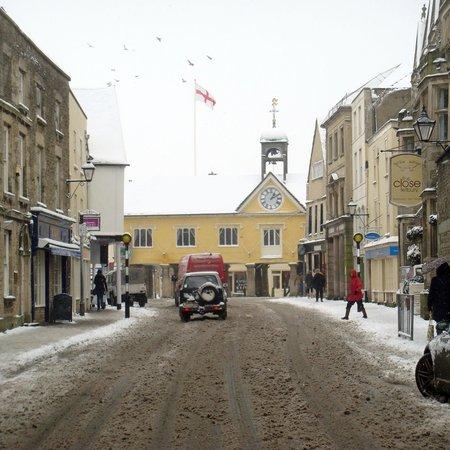 Calcot Manor: Tetbury in winter