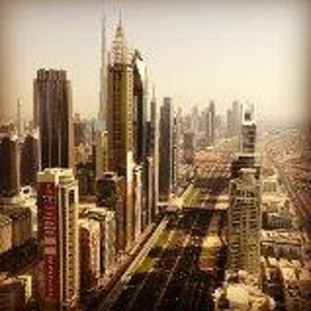 Millennium Plaza Hotel Dubai: view from 58th floor