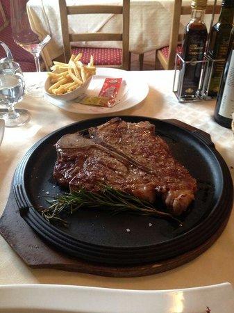 Fiorentina in ristorante toilasor di livigno
