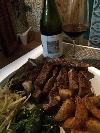 33 Sitges: Special of Chuleton steak for two...