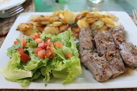 Ric& Cath'snack : steak de cerf