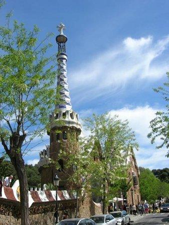 Barcelona Bus Turistic: Parkzicht