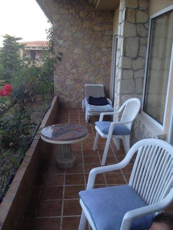 Hotel Eden Roc : Балкон