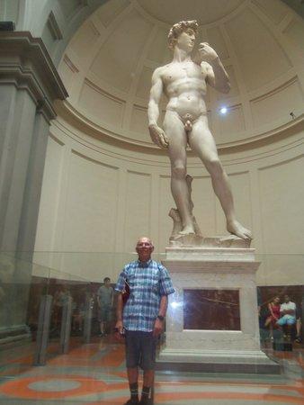 """Accademia di Belle Arti (Galleria dell'Accademia): """"David"""" and me"""