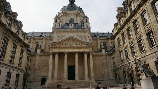 La Sorbonne: Внутренний дворик Сорбонны