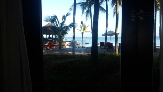 Le Meridien Ile Maurice: View from Room 407