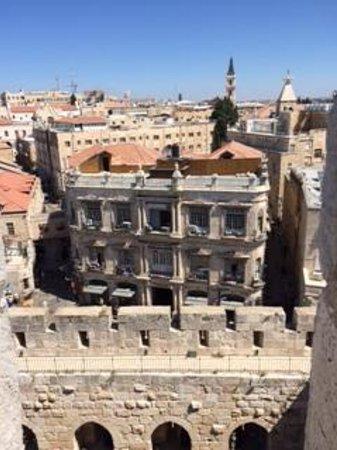 New Imperial Hotel: ダビデの塔からホテルの全景