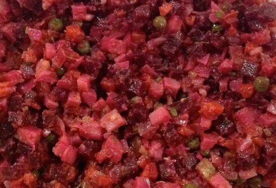 Dacha Restaurant : Russian Beet Salad Vinaigrette