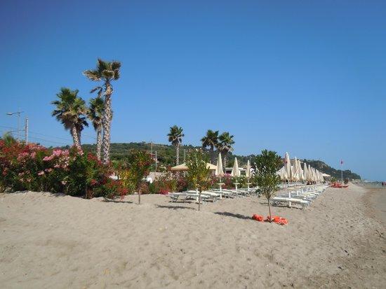 Le Residenze degli Ulivi: la spiaggia