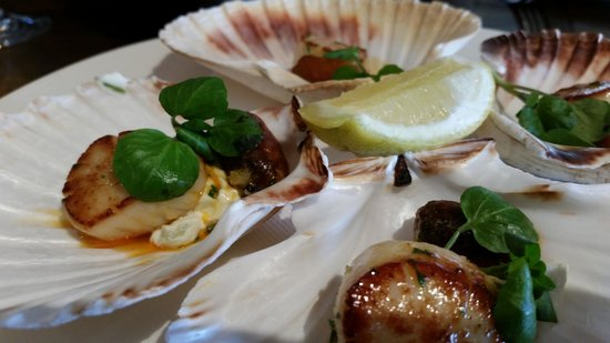 Rocpool Restaurant : sensational scallops
