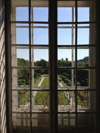 Musée Rodin : Вид со второго этажа.