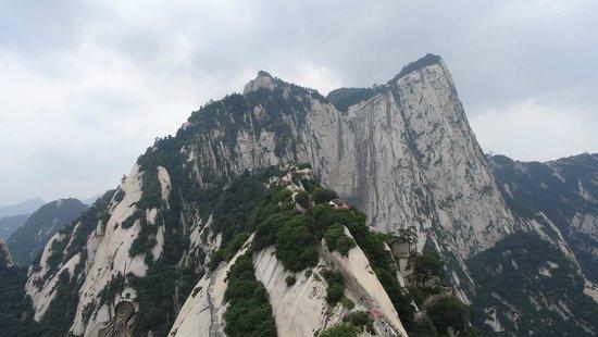 Mount Huashan: Вид на гору